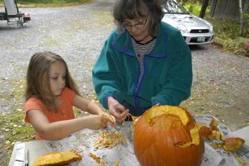 Charlotte pumpkin carving.jpg