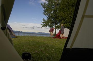 Charlotte tent morning.jpg